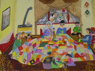 دیپلم افتخار مسابقه نقاشی بلغارستان در دستان دو کودک و نوجوان ایرانی
