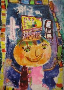عضو کتابخانه 28 کانون تهران، برگزیده اول نقاشی اسپانیا