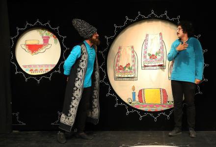 نمایش «تو مثل طوطی» در مرکز تئاتر کانون