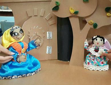 دست پر نوجوانان نابینا در جشنواره نمایش عروسکی