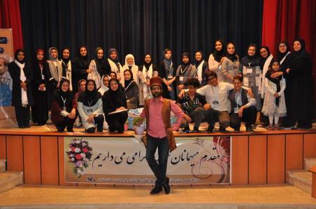 جشنواره قصه گویی نوجوانان البرز در قاب تصویر