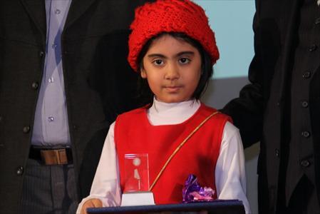 مراسم اختتامیه جشنواره فیلم کودکان برای کودکان در شهر قزوین