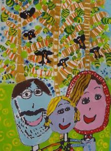 سهم کودکان و نوجوانان ایرانی از مسابقه نقاشی بلغارستان؛ 10 جایزه