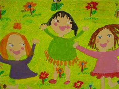 دختر 8 سالهی ارومیهای برندهی اول مسابقهی نقاشی اسپانیا