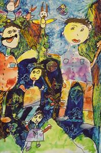 افتخار آفرینی 5 کودک نقاش ایرانی در مسابقهی بینالمللی هیکاری ژاپن