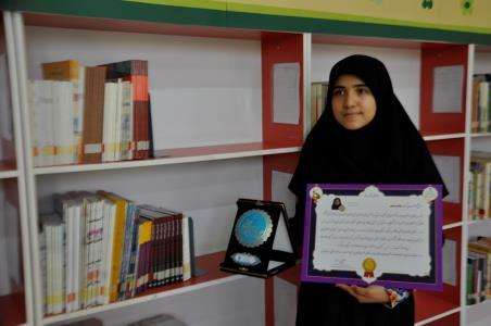 کسب رتبه اول جشنواره نوجوان خوارزمي در کشور