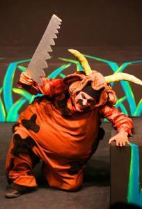 اجرای نمایش گاوی که میخواست شیر باشد در مرکز تئاتر کانون