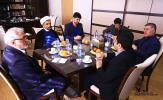 نشست مشترک مسوولان کانون با رايزن فرهنگي بغداد