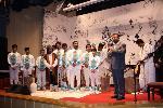 اجراي کنسرت موسيقايي موسي و شبان در گردهمايي مديران کانون